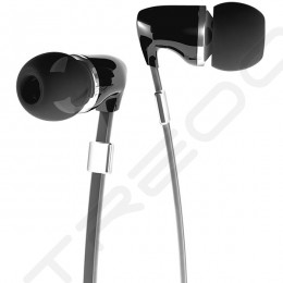 Fischer Audio Thunderstone In-Ear Earphone with Mic - Black