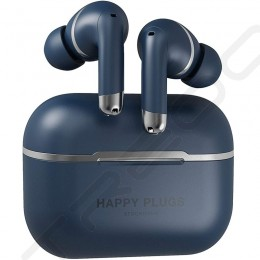 Happy Plugs Air 1 ANC True Wireless Bluetooth Noise-Cancelling In-Ear Earphone with Mic - Blue