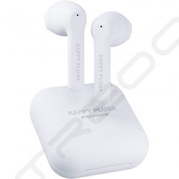 Happy Plugs Air 1 GO True Wireless Bluetooth In-Ear Earphone with Mic - White