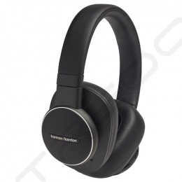 Harman Kardon FLY ANC Wireless Bluetooth Noise-Cancelling Over-the-Ear Headphone with Mic