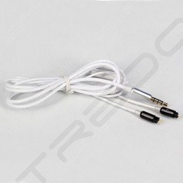 Heir Audio Technas MS-1 Replacement Cable with Mic for Android - White