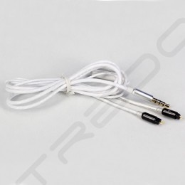 Heir Audio Technas MI-1 Replacement Cable with Mic for iOS - White