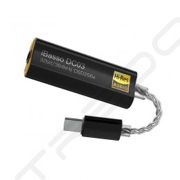 iBasso DC03 Type-C USB DAC & Amplifier Cable - Black