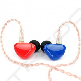 iBasso IT01 In-Ear Earphone - Blue/Red