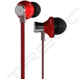 Fischer Audio iCon Red In-Ear Earphone with Mic - Red
