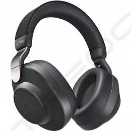 Jabra Elite 85h Wireless Bluetooth Noise-Cancelling Over-the-Ear Headphone with Mic - Titanium Black