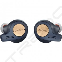 Jabra Elite Active 65t True Wireless Bluetooth In-Ear Earphone with Mic - Copper Blue