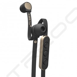 JAYS a-JAYS Four+ In-Ear Earphone with Mic - Black/Gold