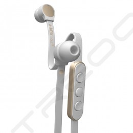 JAYS a-JAYS Four+ In-Ear Earphone with Mic - White/Gold