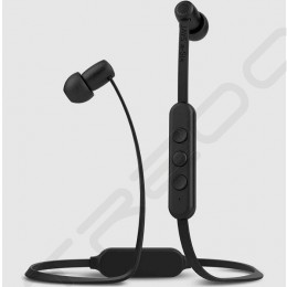 Jays a-Six Wireless Bluetooth In-Ear Earphone with Mic - Black/Black