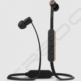 Jays a-Six Wireless Bluetooth In-Ear Earphone with Mic - Black/Gold