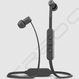 Jays a-Six Wireless Bluetooth In-Ear Earphone with Mic - Grey on Silver