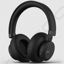 JAYS q-Seven Wireless Bluetooth Active Noise-Cancelling Over-the-Ear Headphone with Mic