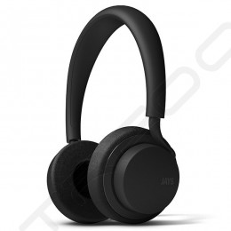 JAYS u-JAYS On-Ear Headphone with Mic - Black/Black