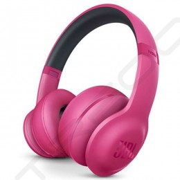 JBL Everest 300BT Wireless Bluetooth Over-the-Ear Headphone with Mic - Pink
