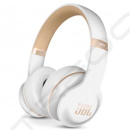 JBL Everest Elite 300NXT Wireless Bluetooth Noise-Cancelling Over-the-Ear Headphone with Mic - White