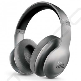 JBL Everest Elite 700NXT Wireless Bluetooth Noise-Cancelling Over-the-Ear Headphone with Mic - Platinum