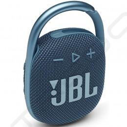 JBL CLIP 4 Wireless Bluetooth Portable Speaker - Blue