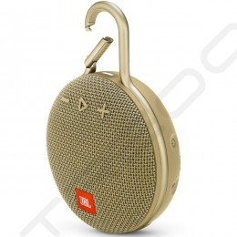 JBL CLIP 3 Wireless Bluetooth Portable Speaker - Desert Sand