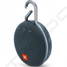 JBL CLIP 3 Wireless Bluetooth Portable Speaker with Mic - Ocean Blue