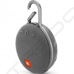 JBL CLIP 3 Wireless Bluetooth Portable Speaker with Mic - Stone Grey