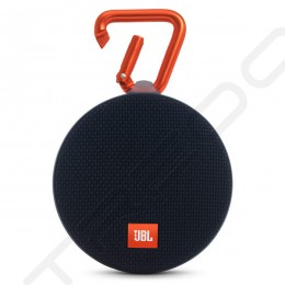 JBL Clip 2 Wireless Bluetooth Portable Speaker with Mic - Black