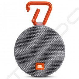 JBL Clip 2 Wireless Bluetooth Portable Speaker with Mic - Gray
