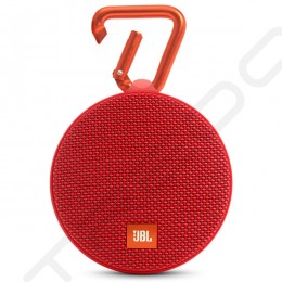 JBL Clip 2 Wireless Bluetooth Portable Speaker - Red