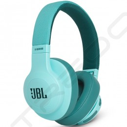 JBL E55BT Wireless Bluetooth Over-The-Ear Headphone with Mic - Teal