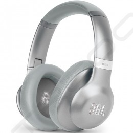 JBL Everest Elite 750NC Wireless Bluetooth Noise-Cancelling Over-the-Ear Headphone with Mic - Silver