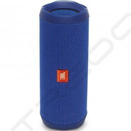 JBL Flip 4 Wireless Bluetooth Portable Speaker - Blue