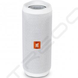 JBL Flip 4 Wireless Bluetooth Portable Speaker - White