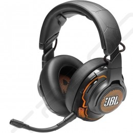 JBL Quantum ONE USB Active Noise-Cancelling Over-the-Ear Gaming Headset with Mic
