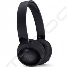 JBL TUNE 600BTNC Noise-Cancelling Wireless Bluetooth On-Ear Headphone with Mic - Black