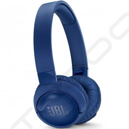 JBL TUNE600BTNC Noise-Cancelling Wireless Bluetooth On-Ear Headphone with Mic - Blue