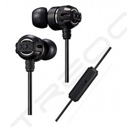 JVC HA-FX33XM In-Ear Earphone with Mic - Black
