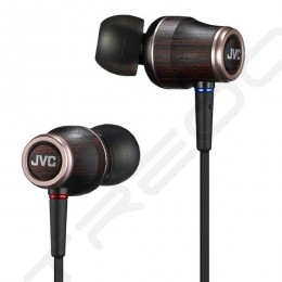 JVC HA-FW03 WOOD 03 In-Ear Earphone