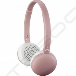 JVC HA-S20BT-P Wireless Bluetooth On-Ear Headphone with Mic - Pink