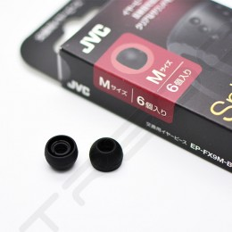 JVC EP-FX9 Spiral Dot Silicone Eartips