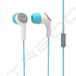 Koss KEB15i In-Ear Earphone with Mic - Teal