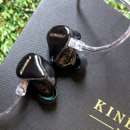 Kinera H3 3-Driver Hybrid In-Ear Earphone - Smoke Black