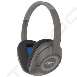 Koss BT539i Wireless Bluetooth Over-the-Ear Headphone with Mic - Dark Grey