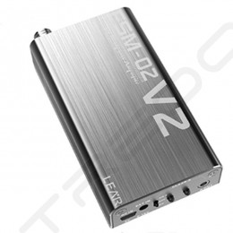 LEAR FSM-02V2 Portable Headphone Amplifier - Silver