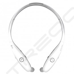 LG Tone Infinim HBS-900 Wireless Bluetooth Neckband In-Ear Earphone - White