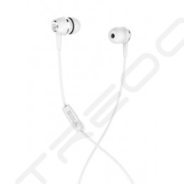 SOUL LIT In-Ear Earphone with Mic - White