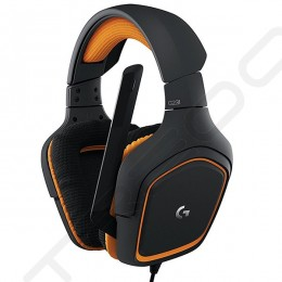 Logitech G231 Prodigy Over-the-Ear Gaming Headset with Mic