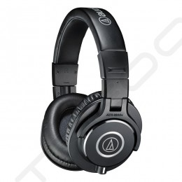 Audio-Technica ATH-M40x Professional Studio Monitor Over-the-Ear Headphone - Black