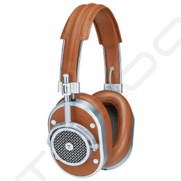 Master & Dynamic MH40 Over-the-Ear Headphone with Mic - Brown