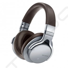 Sony MDR-1ABT Wireless Bluetooth Over-the-Ear Headphone with Mic - Silver