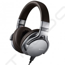 Sony MDR-1ADAC Over-the-Ear Headphone - Silver